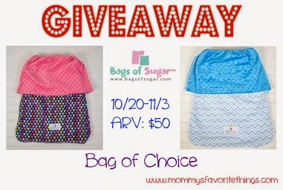Bags of Sugar Giveaway
