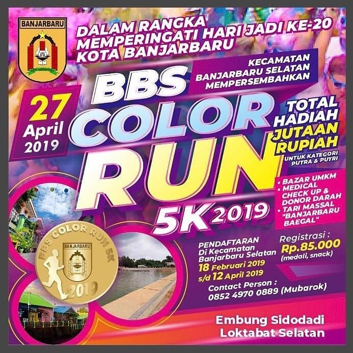 BBS Color Run • 2019