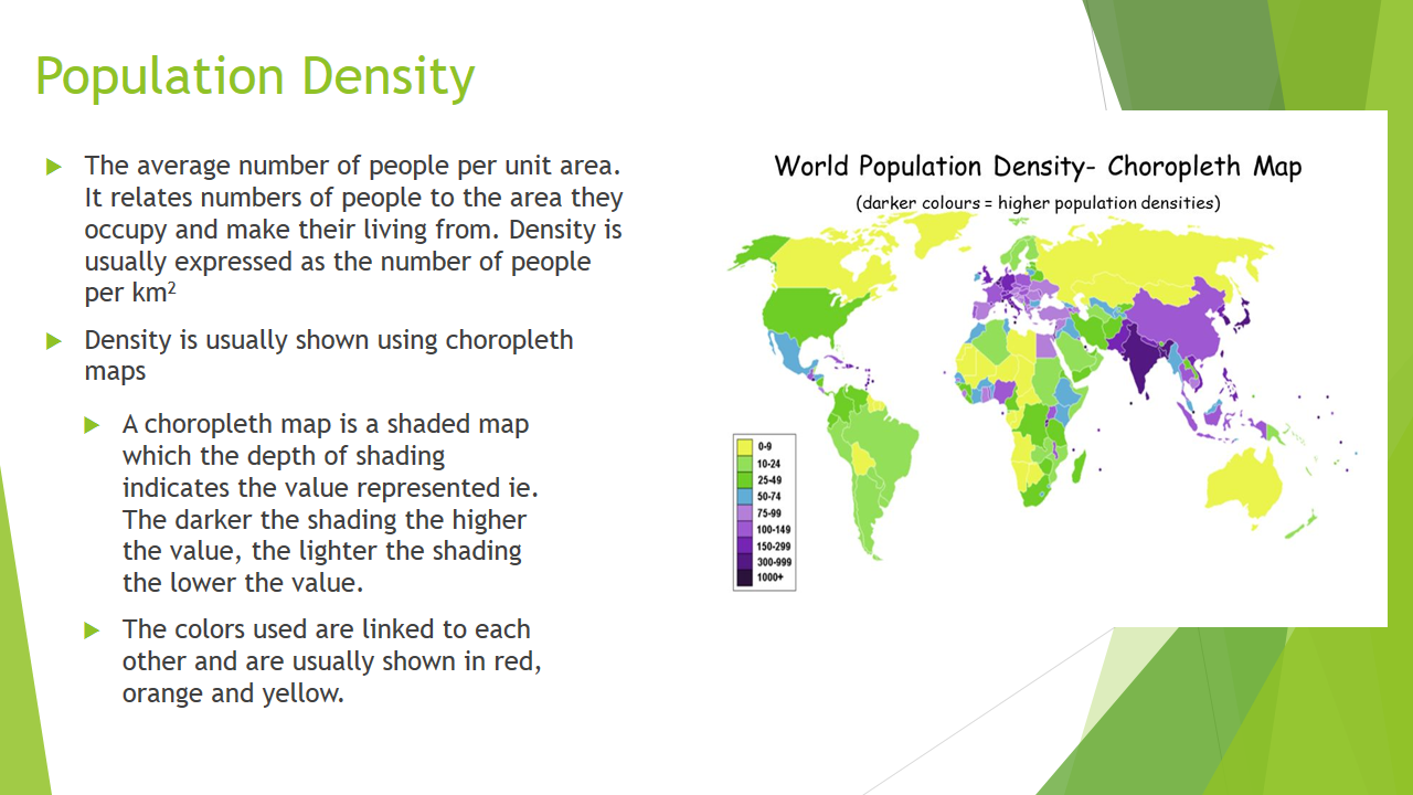 population density and distribution English sentences with population density and distribution in context no results, please check your input for typos or set a different source language 2 to date, the influence of population density and pig husbandry on jev vector distribution in urban areas has not been extensively investigated.