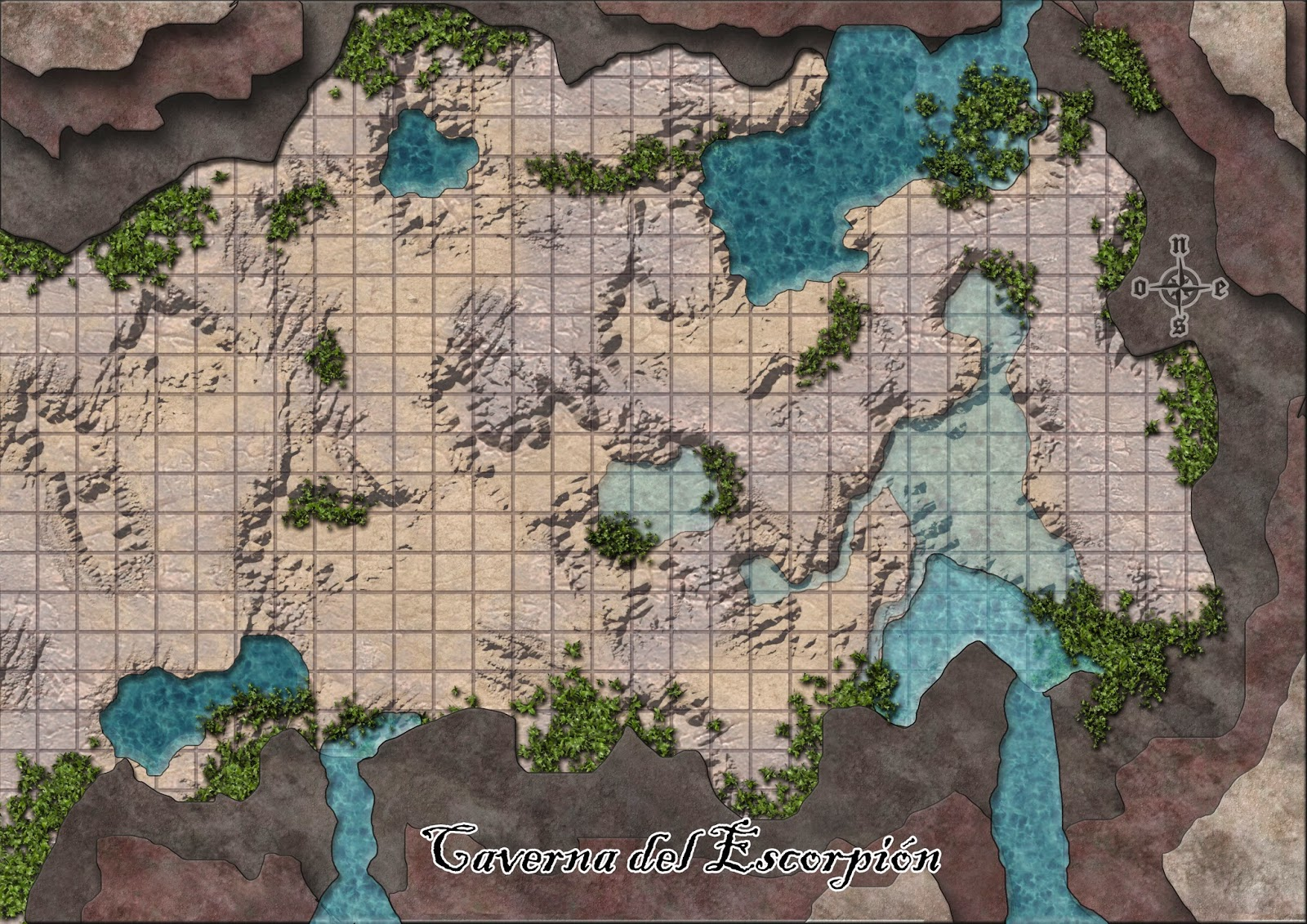 5 3 Map And Underground Dragons Dungeons