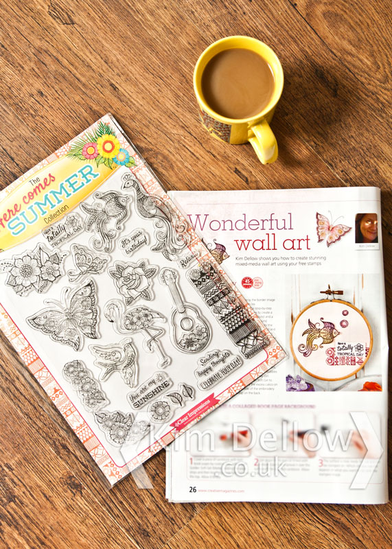 A sneak peek into Creative Stamping issue 25