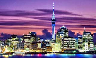Ночной Веллингтон, Новая Зеландия