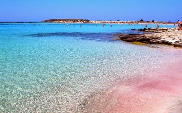 Pantai Laguna Balos, Kreta, Yunani