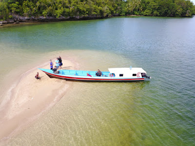 Keindahan salah satu sudut di Pulau Ugar Kokas Kabupaten Fakfak