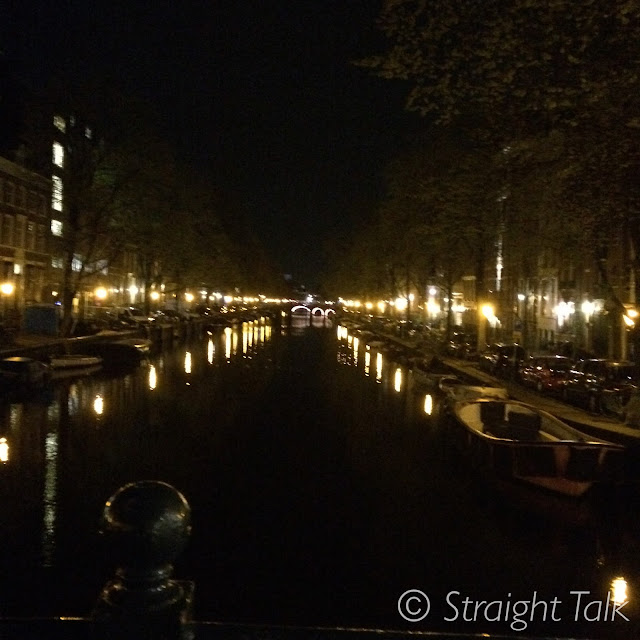 beautiful canal view amsterdam
