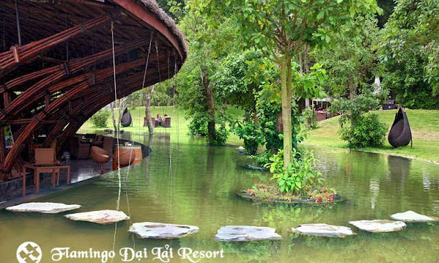 nha hang bambowing flamingo dai lai resort