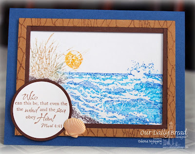 Diana Nguyen, Our Daily Bread Designs, The Mighty Sea, The Waves on the Sea, The Mighty Sea, Fishnet Background