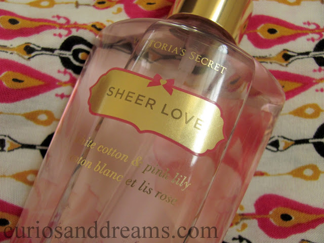 Victoria's Secret Sheer Love Body Mist review, Victoria's Secret Sheer Love Body Mist