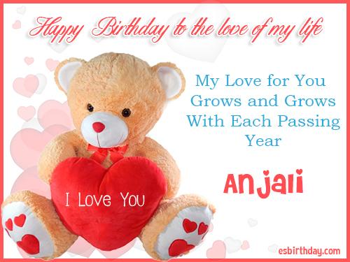 Happy Birthday Anjali Happy Birthday Images For Name