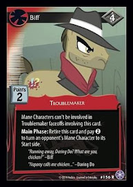 My Little Pony Biff The Crystal Games CCG Card