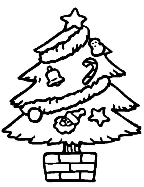 Arvores De Natal Para Imprimir E Colorir Mundo Social