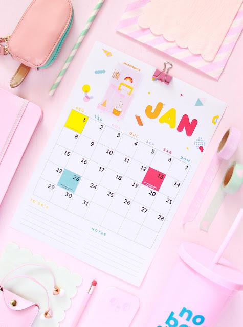 calendario ilustrado imprimivel gratis 2018 blog do math