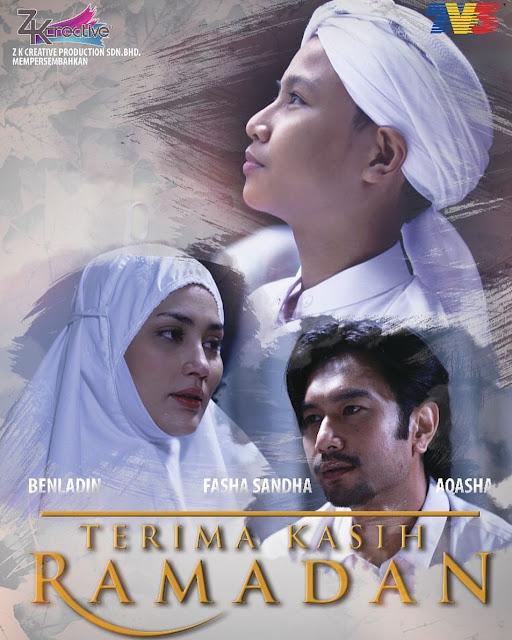 Cerekarama Terima Kasih Ramadan Lakonan Fasha Sandha, Ben Laden, Aqasha