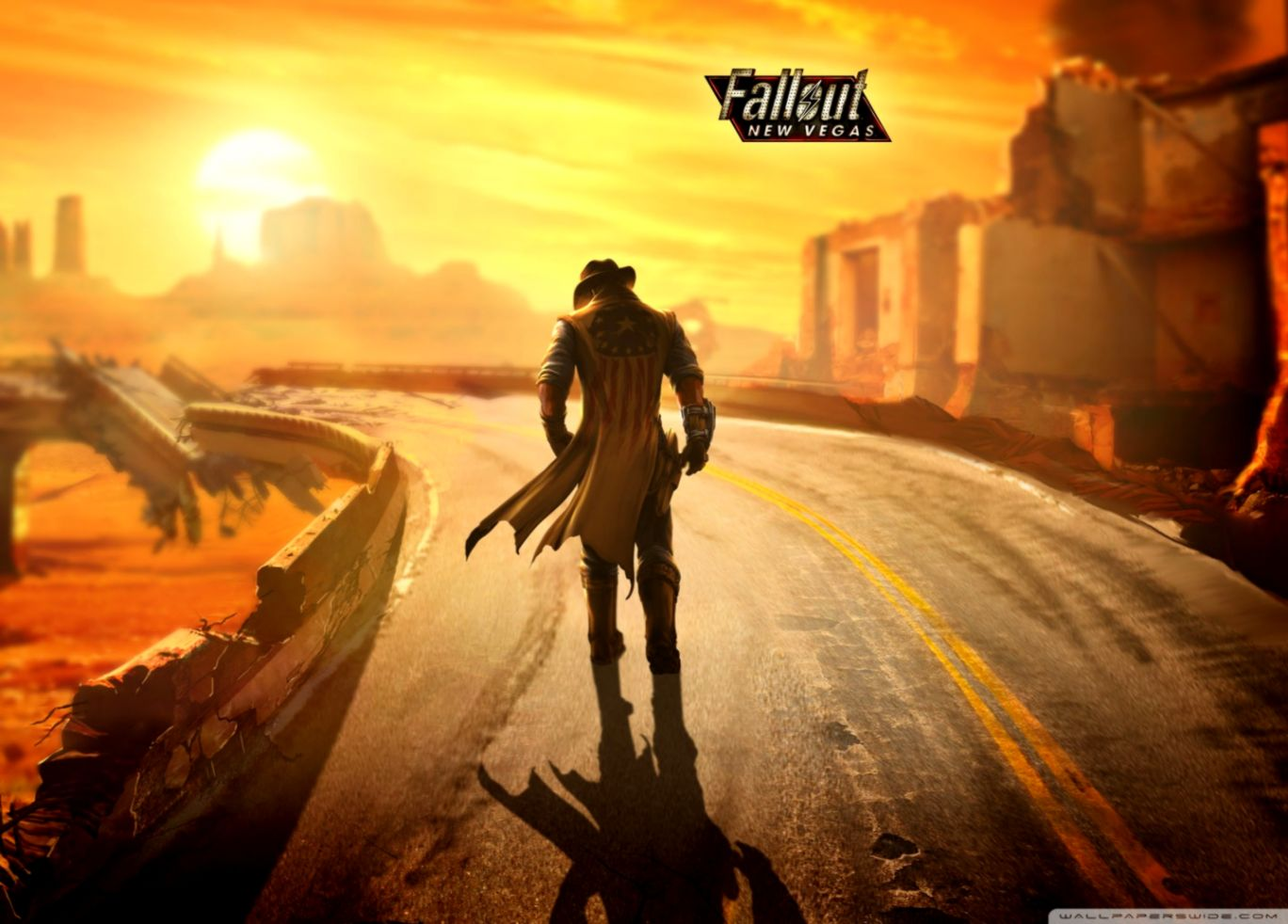 Fallout New Vegas Wallpaper Image Wallpapers
