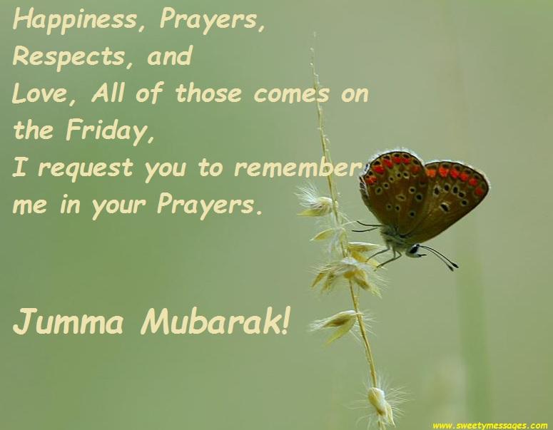 Jummah mubarak messages beautiful messages jumaa mubarak m4hsunfo