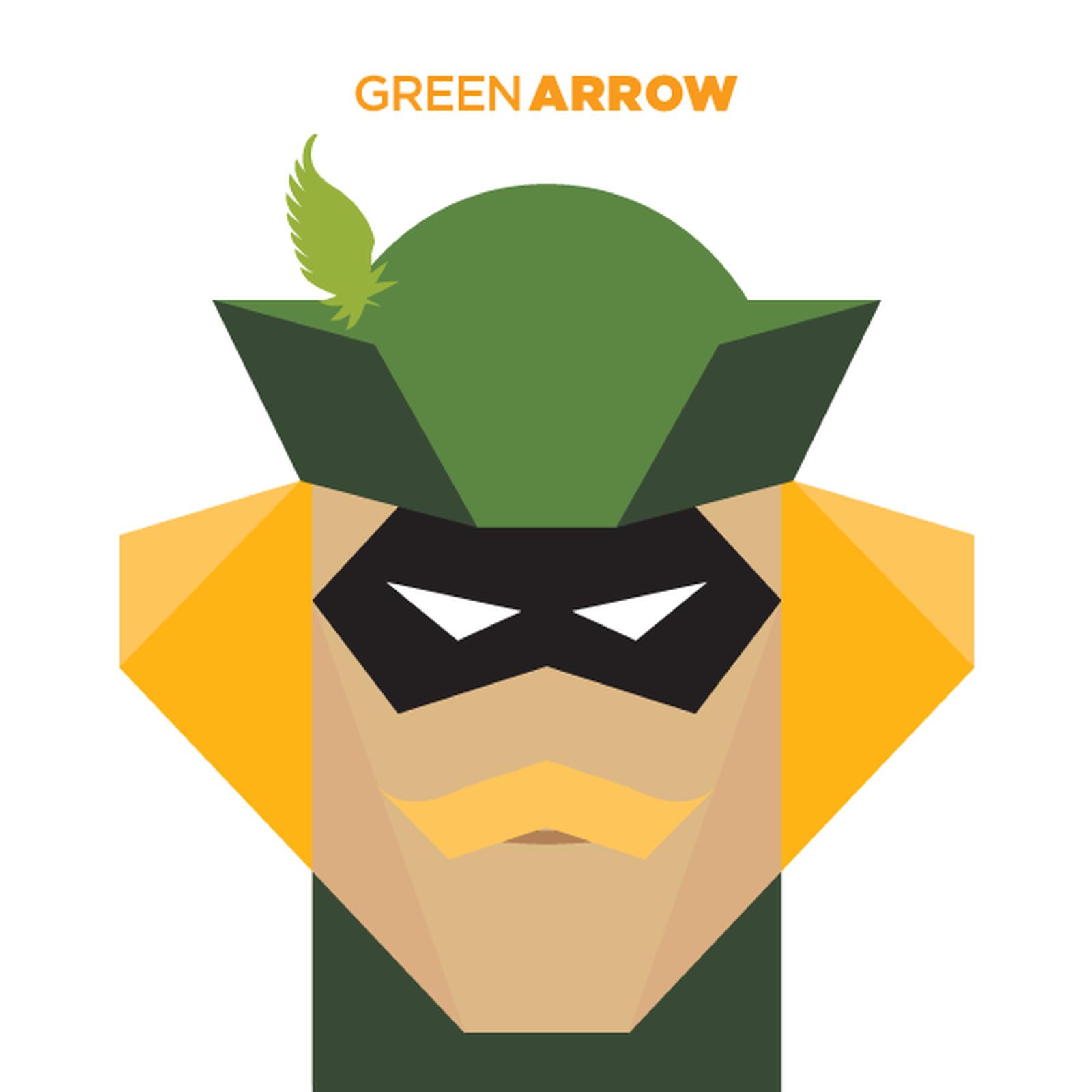 GAMBAR KARTUN VEKTOR GREEN ARROW Gambar Kartun Lucu Dan