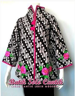 Blus Batik Solo Cantik Diyanti