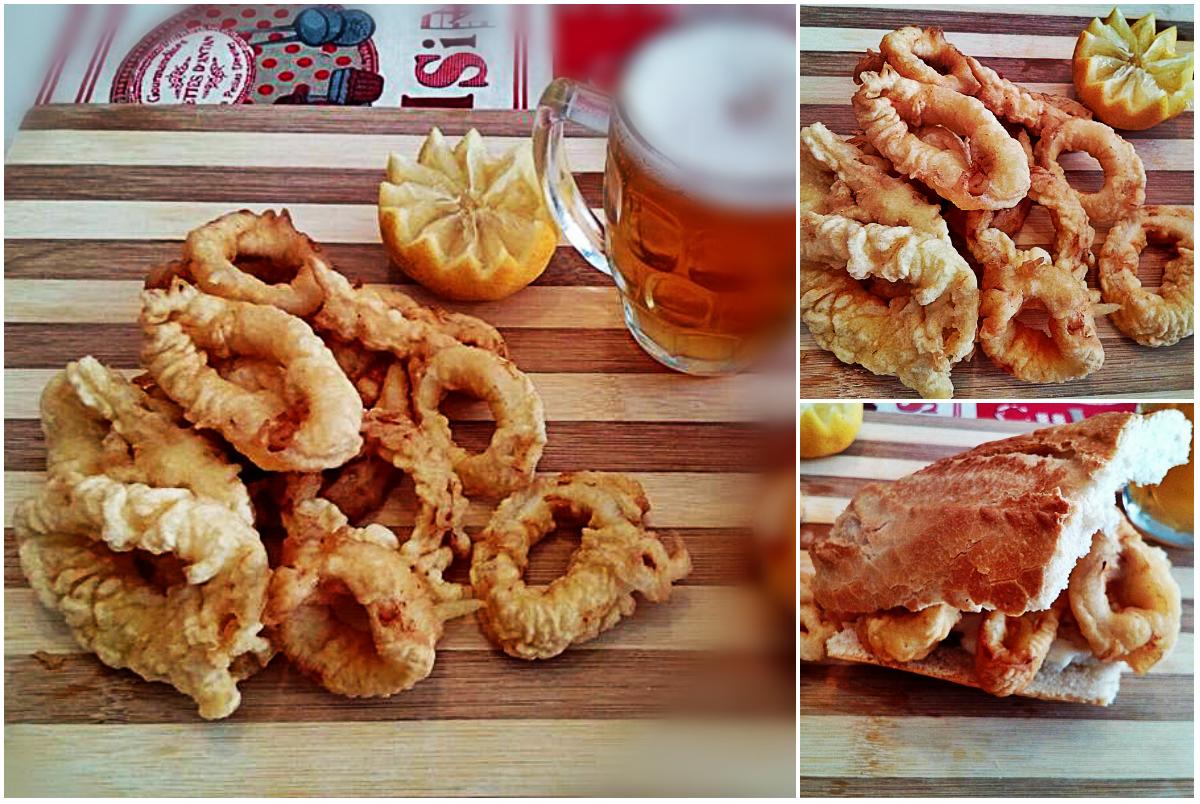 Una tapita de calamares aprende a hacer estos deliciosos for Cocinar 7 mares
