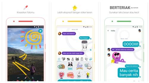 aplikasi chat android mencari teman baru