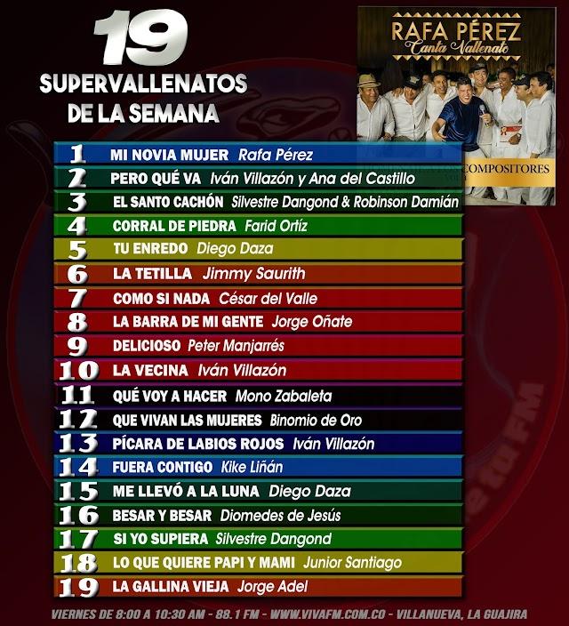 Los 19 Supervallenatos de la Semana de Viva FM