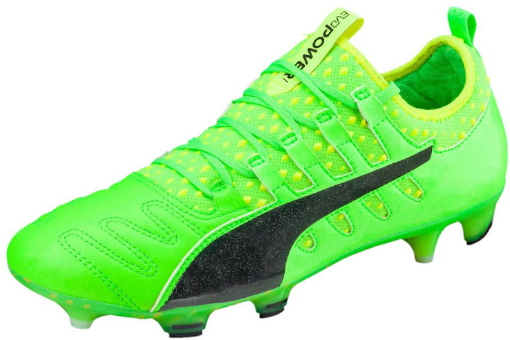 Balotelli s boot also comes with the new Puma lacing system that replaces  the traditional holes with loops for an even tighter fit 6f7c5c21834c