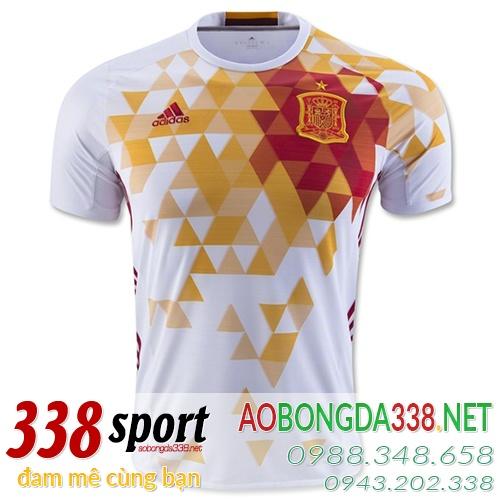 áo đội tuyển tây ban nha sân khách euro 2016