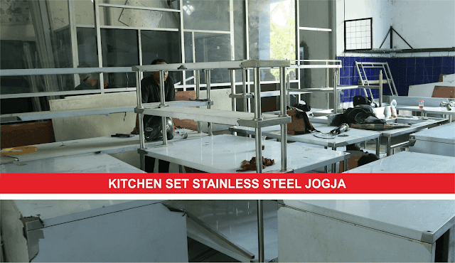 Kitchen Set Stainless Steel di Yogyakarta