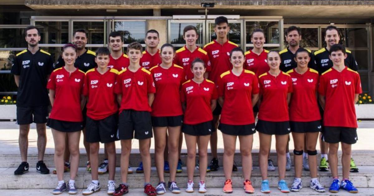 Tenis de mesa madrid europeo junior y cadet de tenis de for Madison tenis de mesa