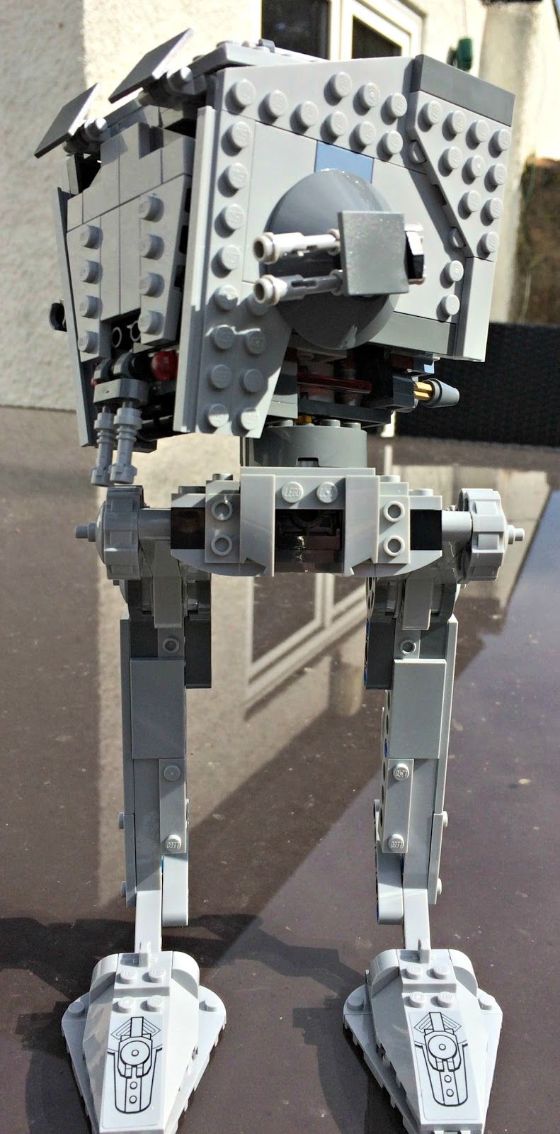 The Lego 75153 Star Wars AT-ST Walker Set