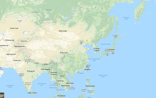 Rescate en el mar de China Oriental de un buque de bandera mongola