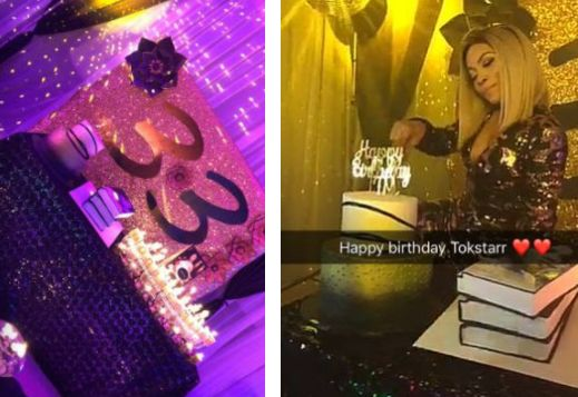 Pics From Toke Makinwa's Birthday Party In Lagos