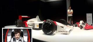 Fernando Alonso costilla rota