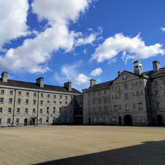 One Day in Dublin City: Collins Barracks near Smithfield
