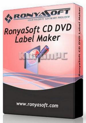 RonyaSoft CD DVD Label Maker 3.01.28 + Key
