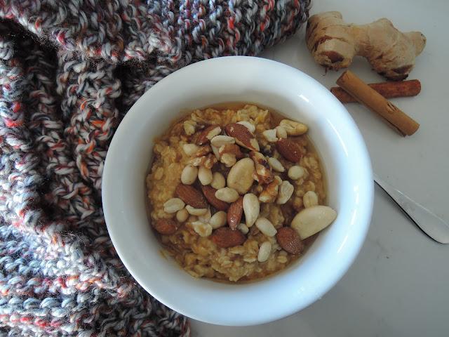 about life;  porridge, chai, organic;  oats