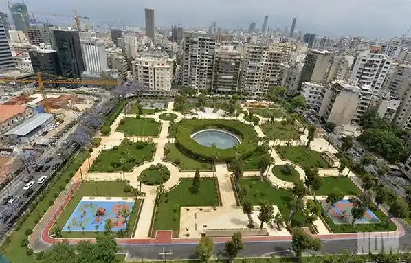 حديقة الصنائع في الحمرا بيروت