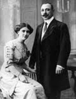 Буров и съпругата му