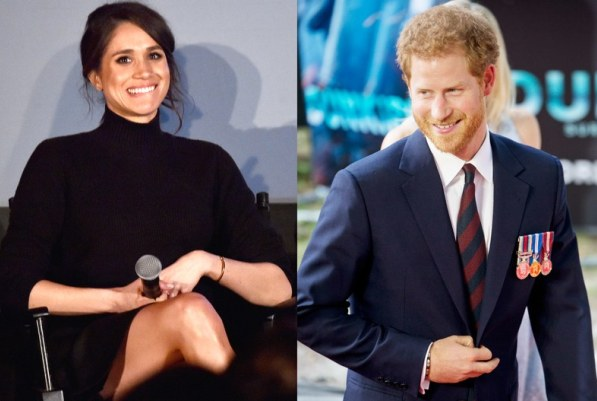 Prince Harry visits Meghan Markle on set of Suits