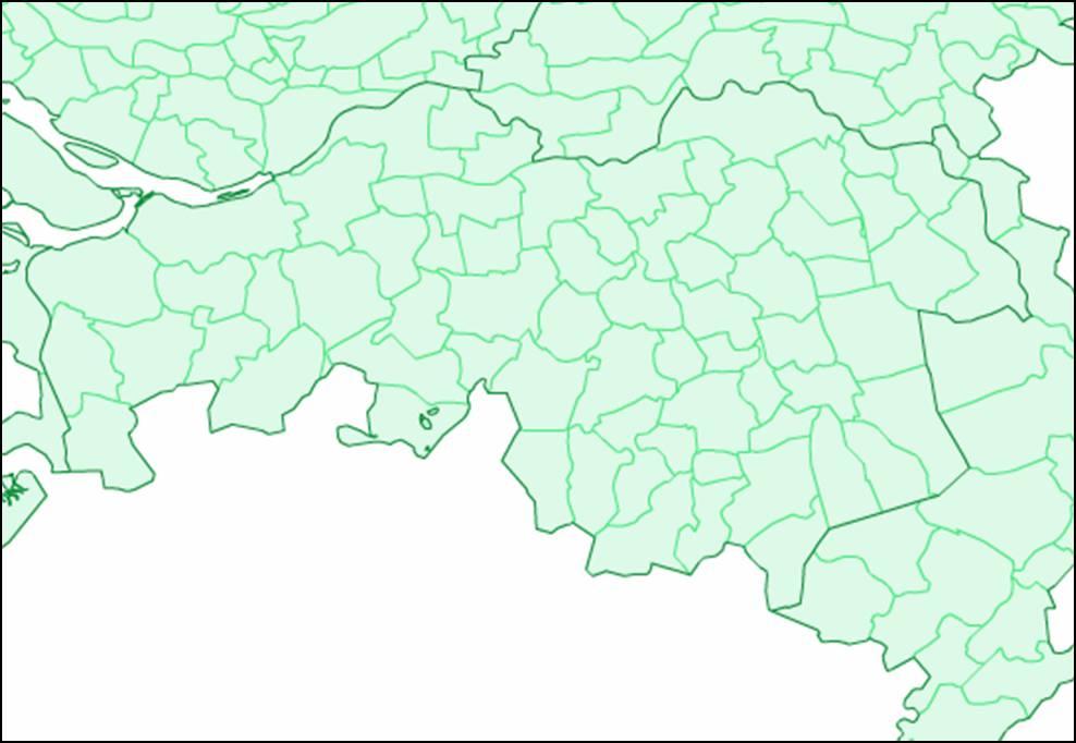 Kaart Noord Brabant Kaart Noord Brabant En Den Bosch Vakantie