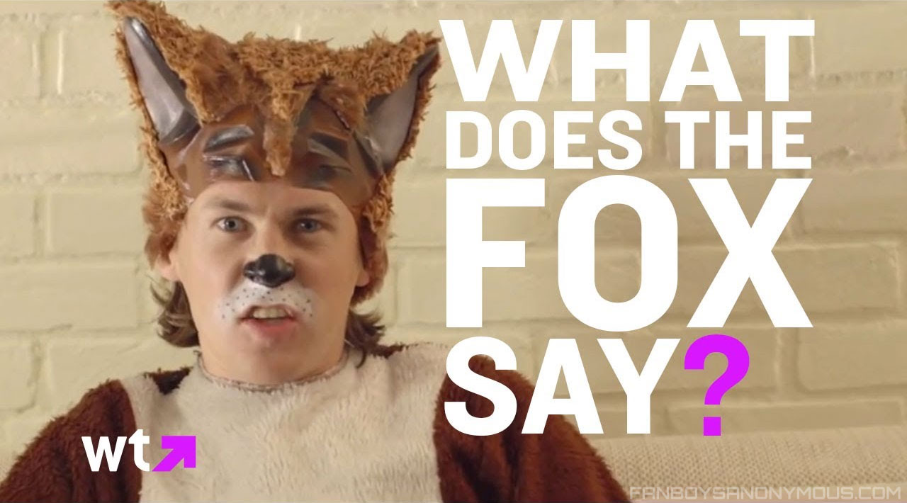 Lyrics to Ylvis What Does Fox Say