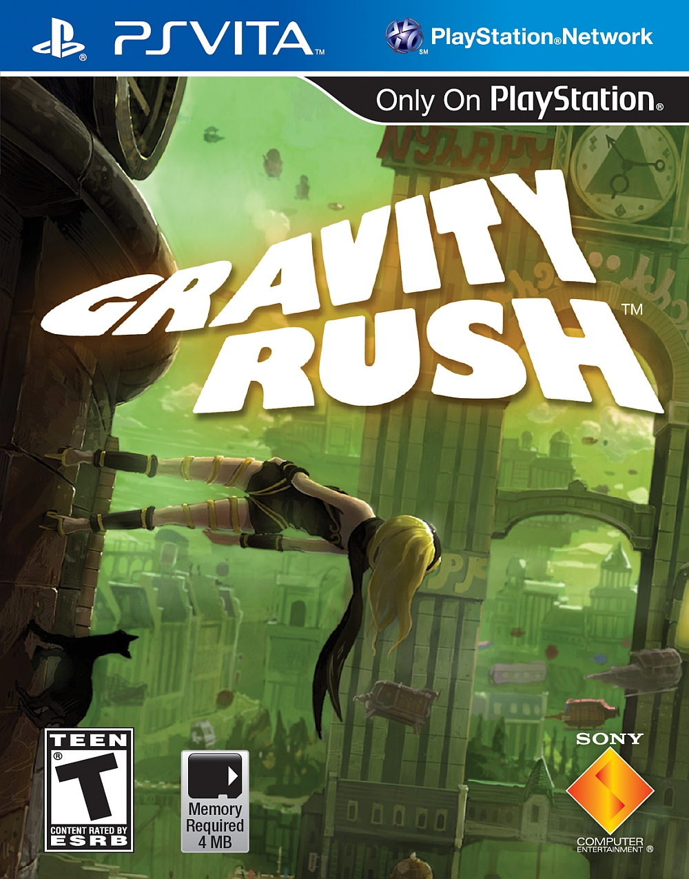 Gravity Rush PSV US ESRB - Gravity Rush (VPK/MAI) PS VITA