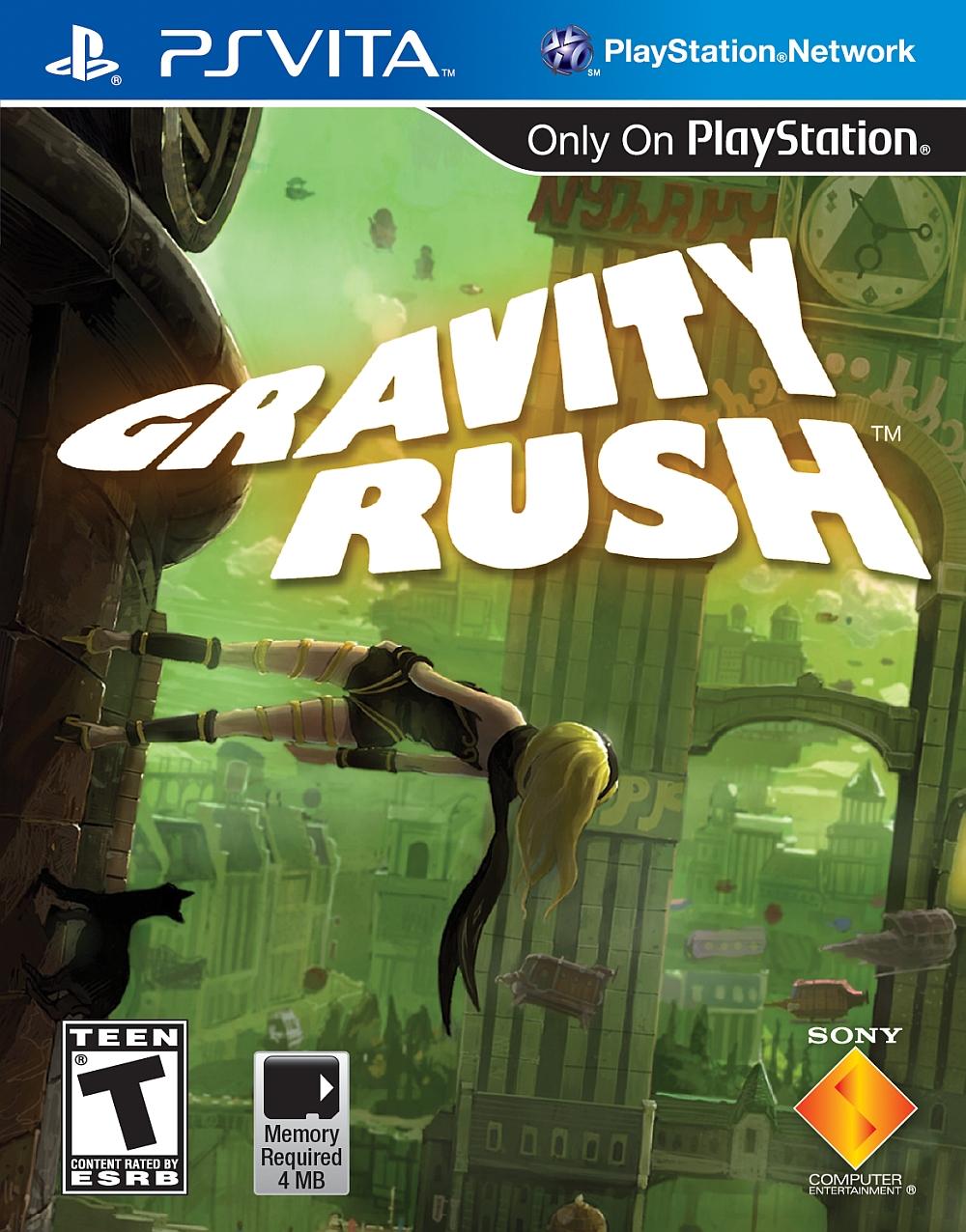 Gravity Rush PSV US ESRB - Gravity Rush (VPK/MAI) PS VITA
