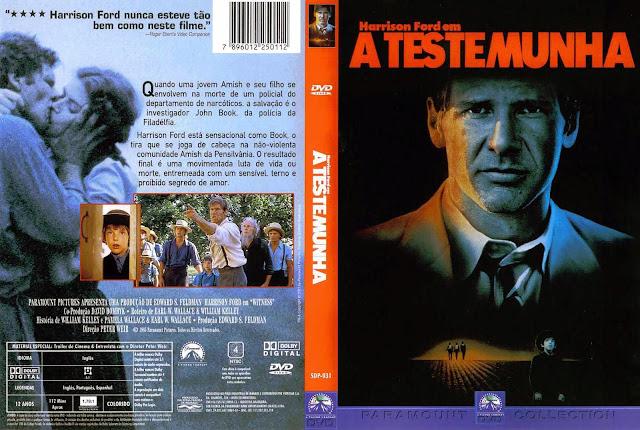 Capa DVD A Testemunha