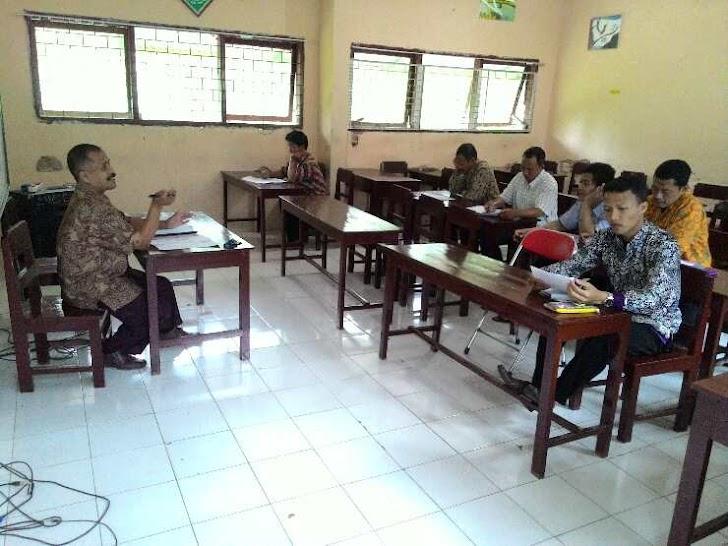 Rapat Dinas MAM Watulimo Sempat Berlangsung Panas