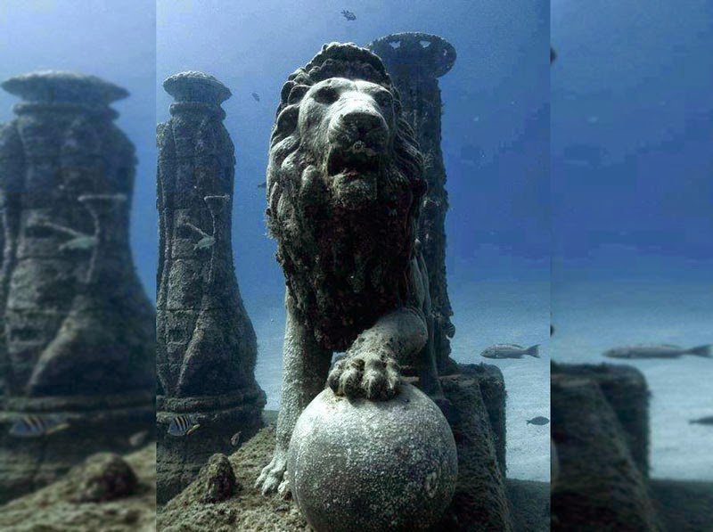 5. Cleopatra's Palace, Alexandria, Egypt - 5 Mind Blowing Underwater Cities