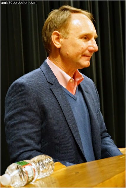 Dan Brown, su Ponencia Gratis en Boston