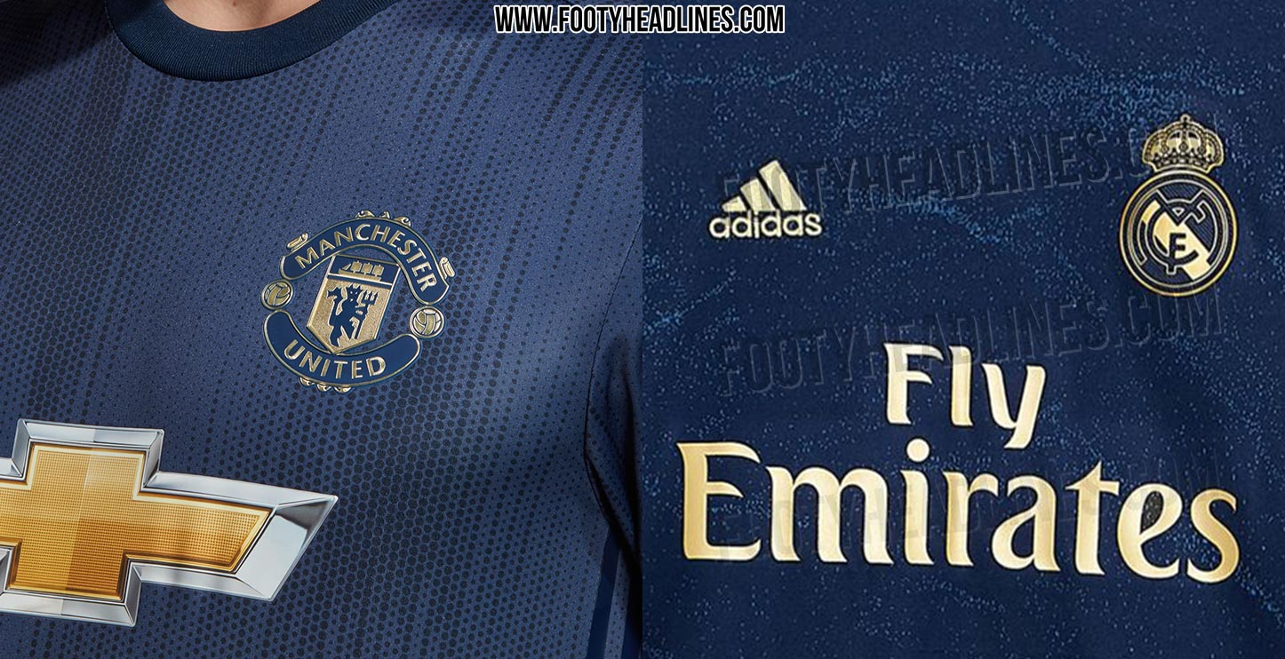 Real Madrid Away Kit Which Is Better? Adidas Man Utd 18-19 Third Vs Real Madrid