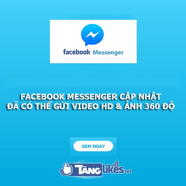 facebook messenger cap nhat