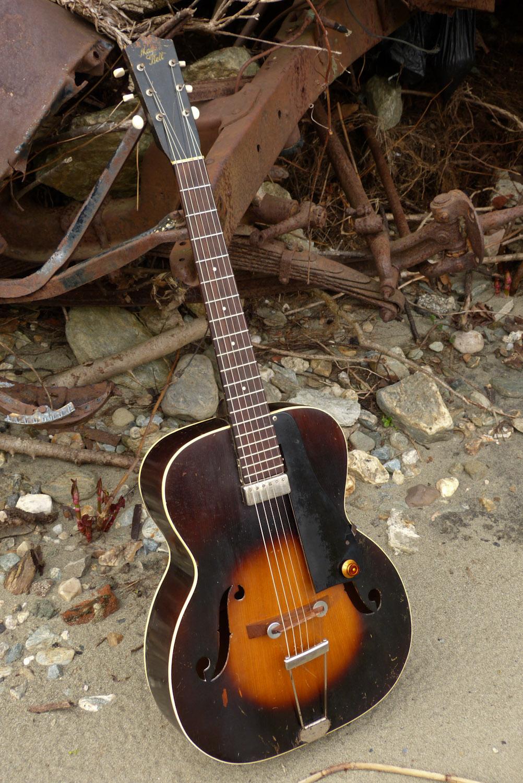 1930s slingerland maybell archtop electric guitar. Black Bedroom Furniture Sets. Home Design Ideas