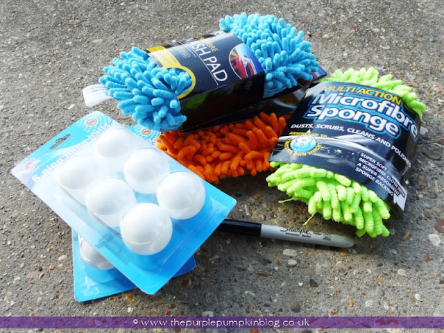 Microfibre Monsters {Crafty October} at The Purple Pumpkin Blog